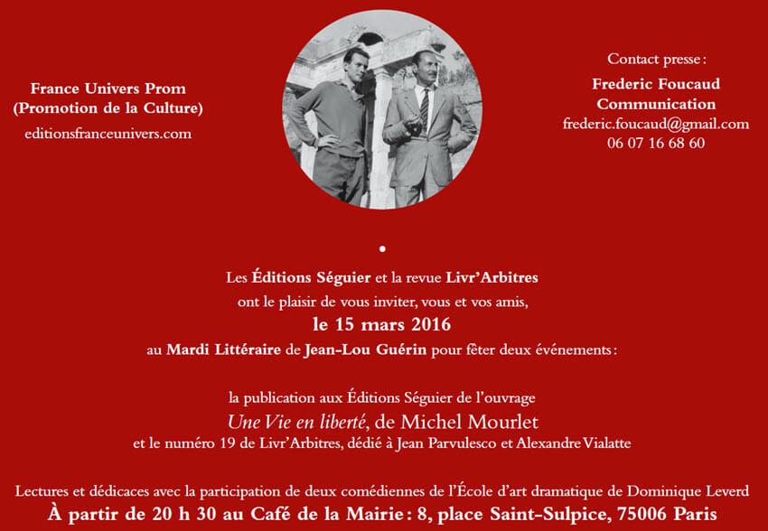 Invitation St-Sulpice