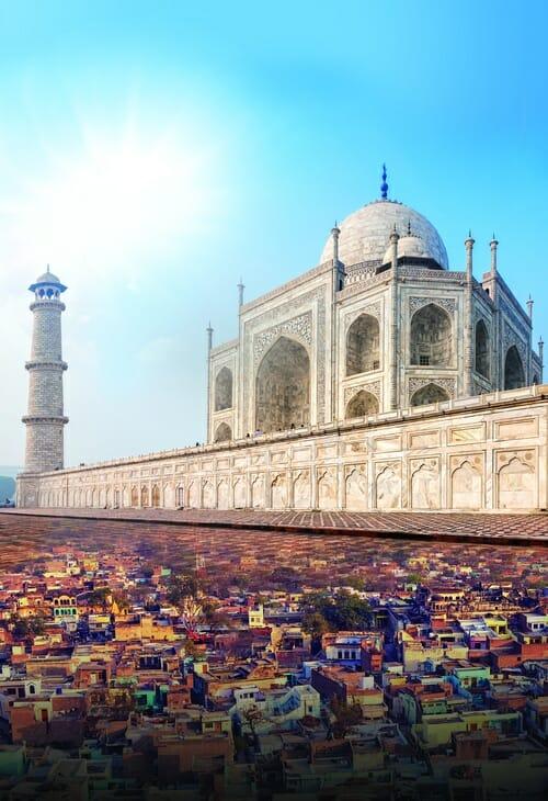 Top Passion, Taj Mahal : Au pays des Maharadjahs