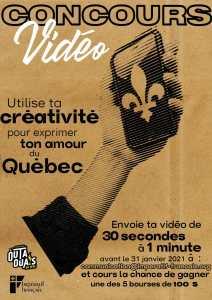 Concours vidéo Impératif français 2021