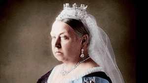 Portrait de la Reine Victoria (1819-1901) d'Angleterre.