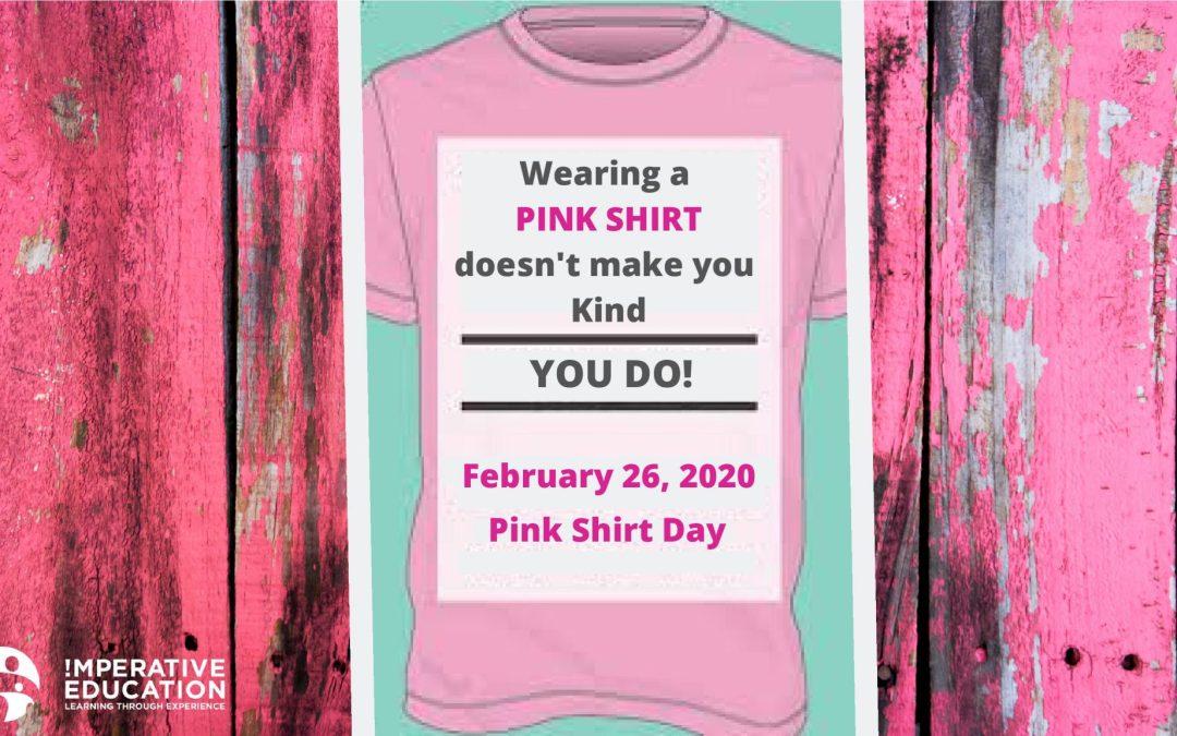 Pink Shirt Day beyond just wearing pink