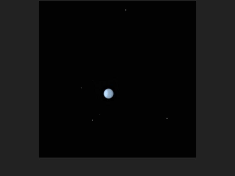 Winter Ice Giant Uranus
