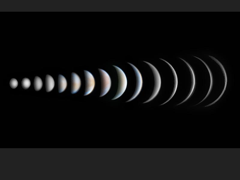 Venus Phase Evolution