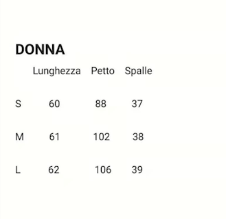 taglie donna imperiale