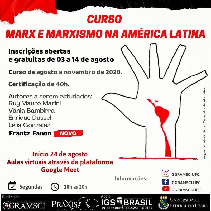 Curso Marx e Marxismo na América Latina