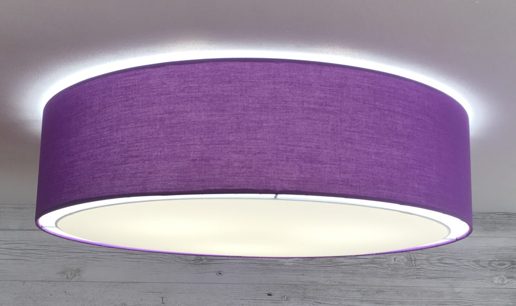 Large Drum Pendant Lighting