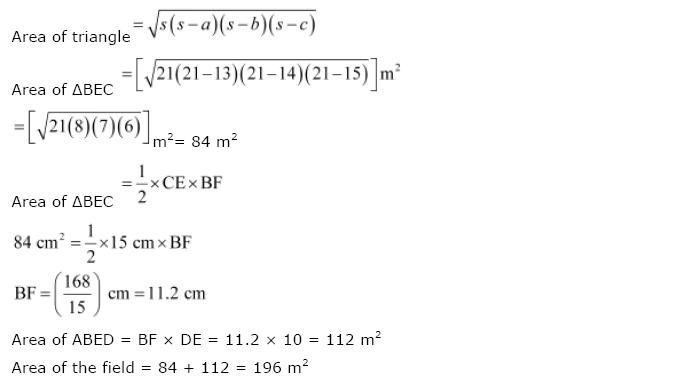 NCERT Solutions for Class 9th Maths Chapter 12 Heron
