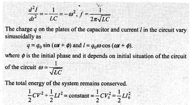 Alternating Current NCERT Exemplar Problems Solutions