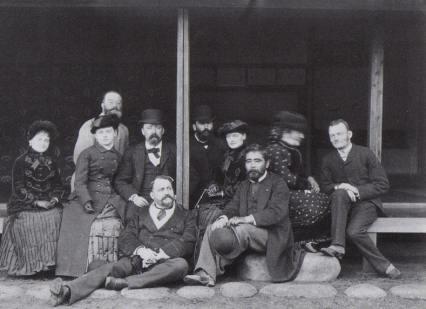 """""""Hugues Krafft au Japon de Meiji"""" (1882)"""