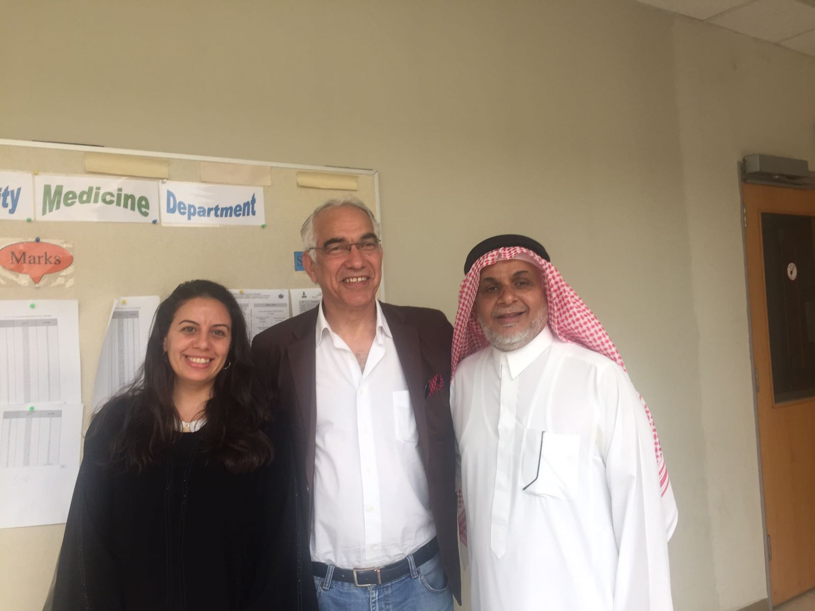 Visit to King Abdul Aziz University College of Medicine, Jeddah
