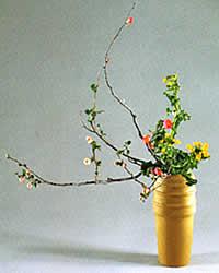 ikebana moribana