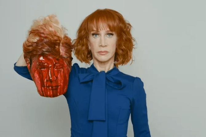 The Kathy Griffin Donald Trump beheading photos were awful but...