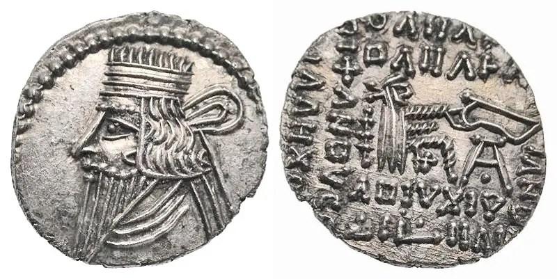 Moneda de Vologeses III.