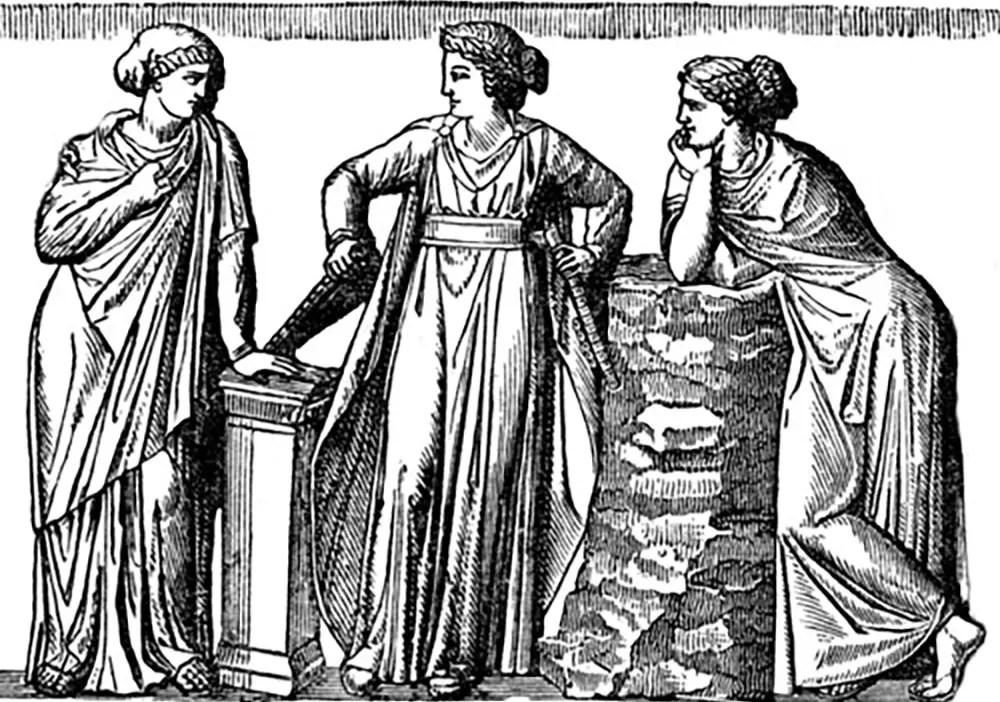 Mujeres romanas.