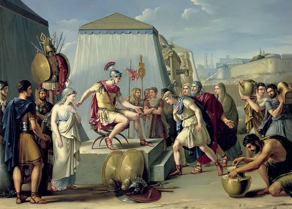 Ilustración de un pretor.