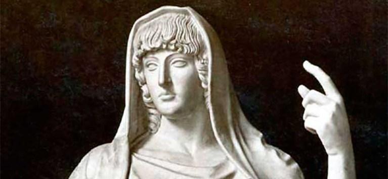 La diosa Vesta, la diosa romana del fuego sagrado
