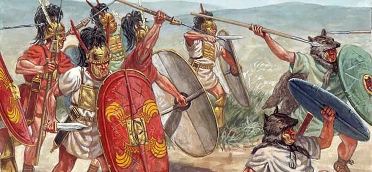 Los primeros ejércitos romanos de la República