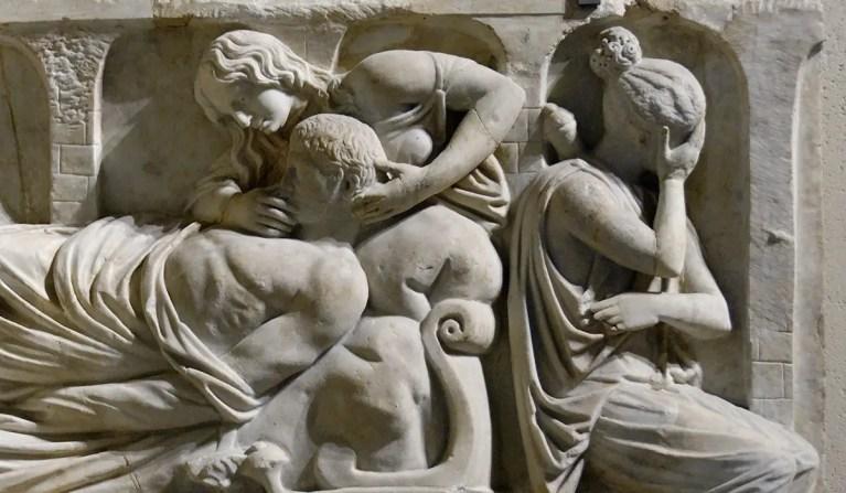 Las costumbres y ritos fúnebres de los romanos
