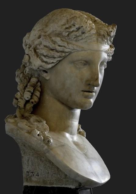 Busto de Dionisio.