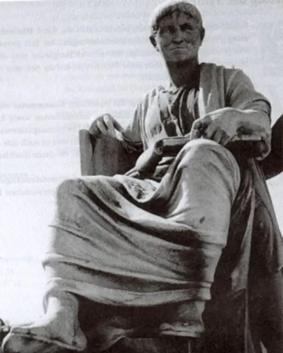 Estatua de Salustio.