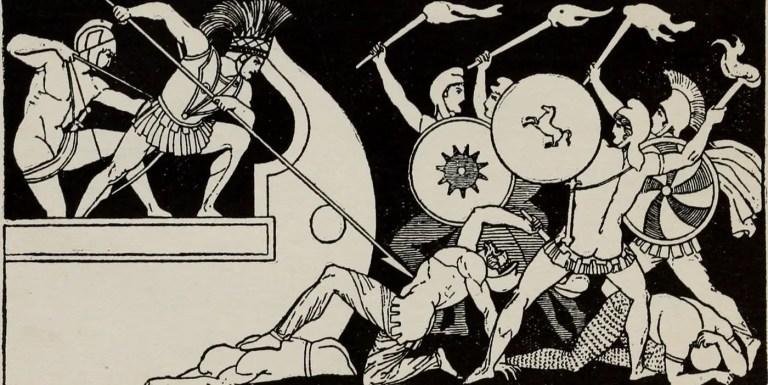 La Ilíada de Homero, canto VI – Coloquio de Héctor y Andrómaca