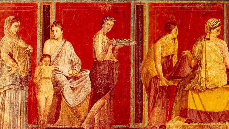 Los nombres de las mujeres romanas