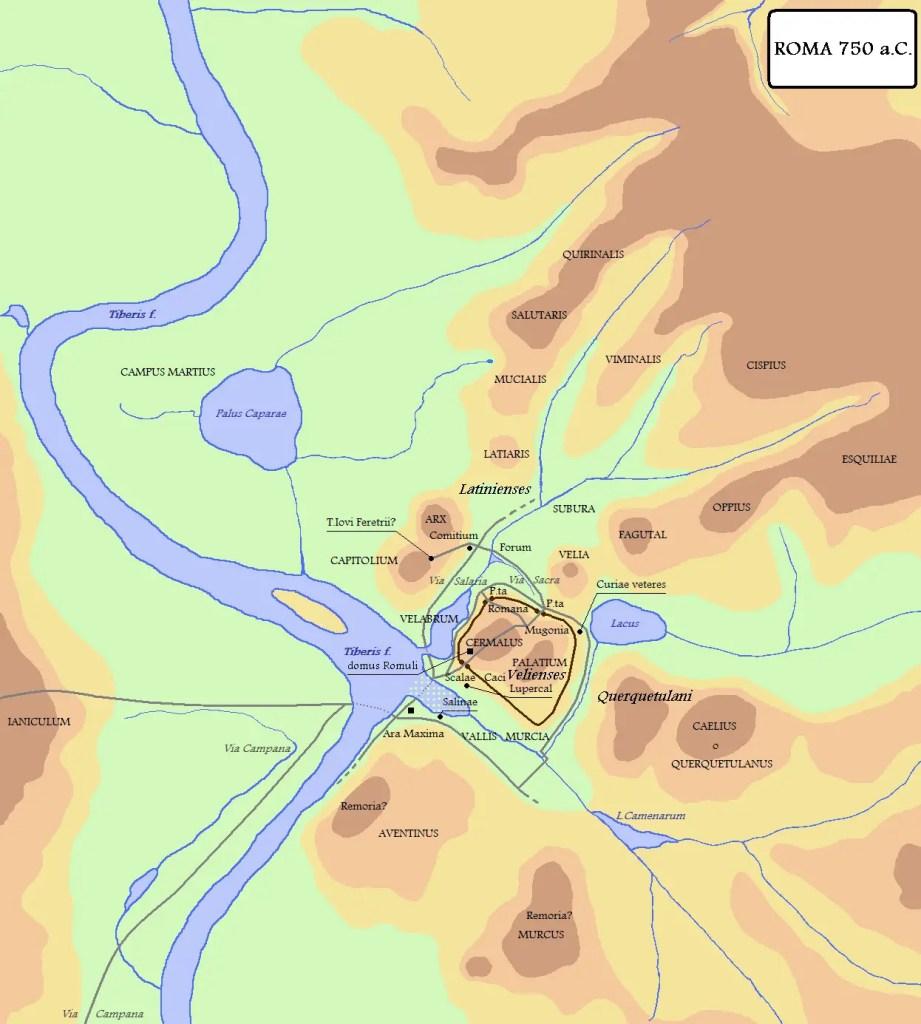 Roma durante el Reino romano