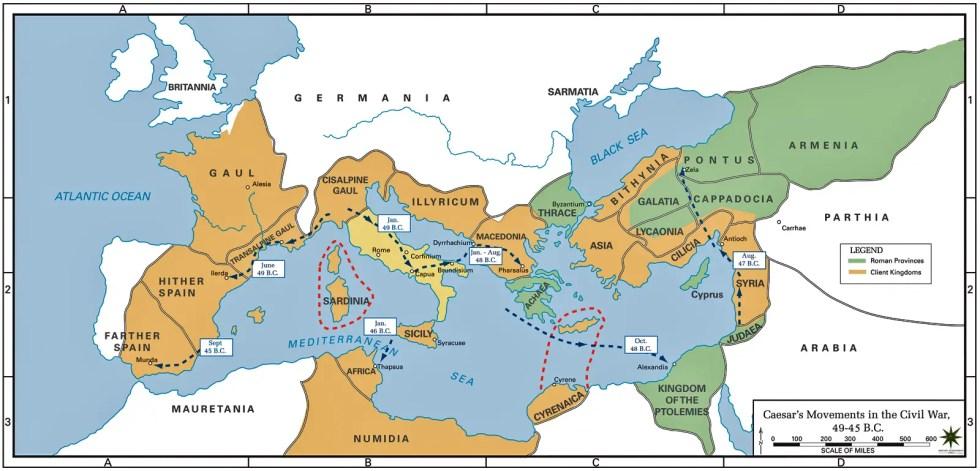 Territorios república durante los eventos de la Guerra civil.