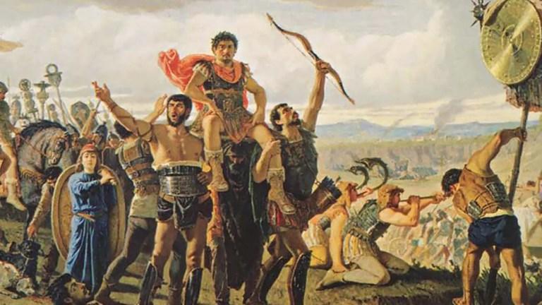 Sula triunfante durante la guerra de Jugurta.