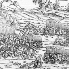 I turchi ottomani all'assalto dell'Asia e dei Balcani. L'estrema difesa di Costantinopoli