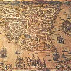 Un genovese sulle mura di Costantinopoli