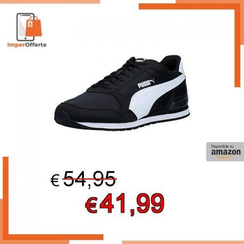 PUMA ST Runner v2 NL, Sneaker Unisex-Adulto, Nero Black White, 47 EU
