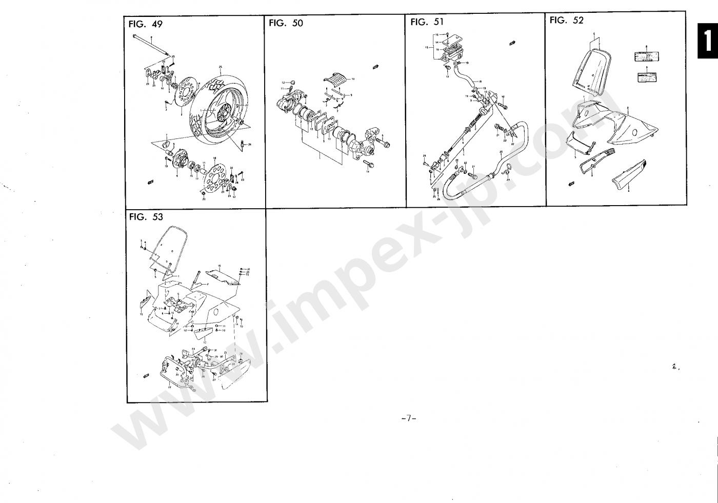 Motorcycle Parts Suzuki Katana Gsx250ssm Gj76a