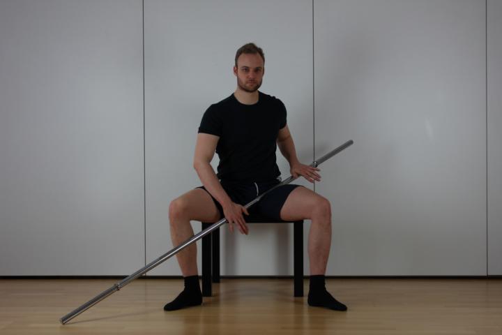 Übung zur Spannungslösung des Beinstreckers