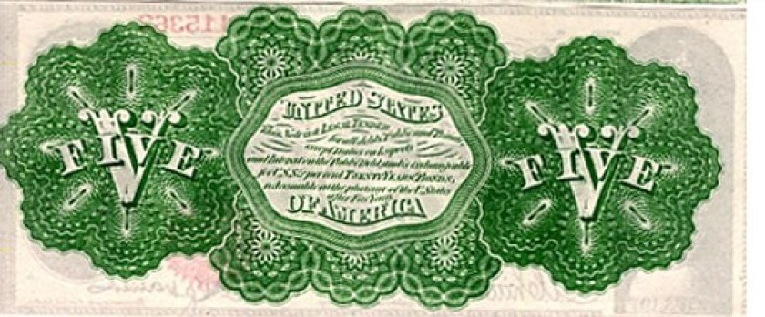 """1862: Greenback. President Lincoln begins the printing of $450,000,000 worth of American currency. These bills are printed in green ink on the reverse side, in order to distinguish them from other bills in circulation, and are called, """"Greenbacks."""" These are printed at no interest to the Federal Government and are used to pay the troops and purchase their supplies. President Lincoln would be the last President to issue debt free United States notes, and on this subject he states, """"The Government should create, issue and circulate all the currency and credit needed to satisfy the spending power of the Government and the buying power of consumers. The privilege of creating and issuing money is not only the supreme prerogative of Government, but it is in the Government's greatest creative opportunity. By the adoption of these principles...the taxpayers will be saved immense sums of interest. Money will cease to be master and become the servant of humanity."""" He also states, """"We gave the people of this republic the greatest blessing they ever had, their own paper money to pay their own debts."""" Source"""