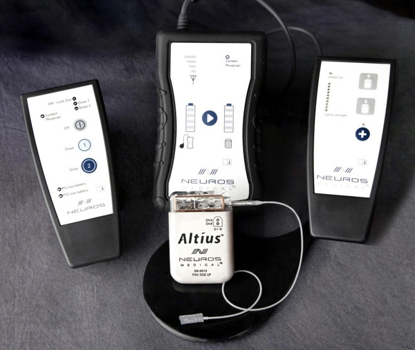 Neuros Medical Altius www.implantable-device.com David Prutchi PhD