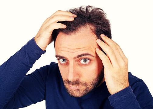 como tratar a queda de cabelo