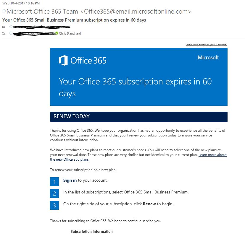 Trusted Email Messages From Office 365 | Implied Networks