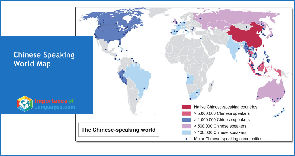 Chinese Speaking Map