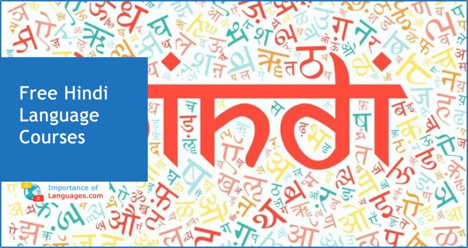 Free Hindi Language Courses
