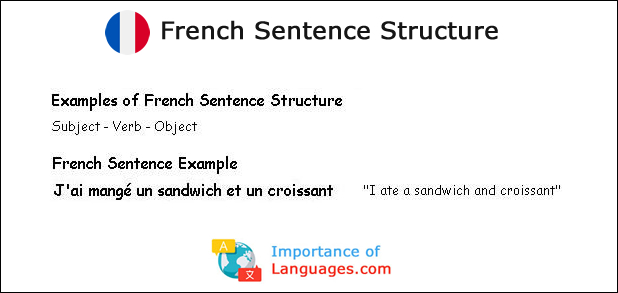 French Sentence Structure