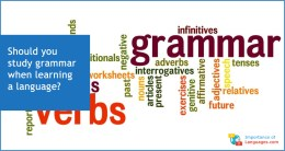 Should you learn language grammer?