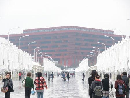 Pabellón de China en la Expo de Shanghai