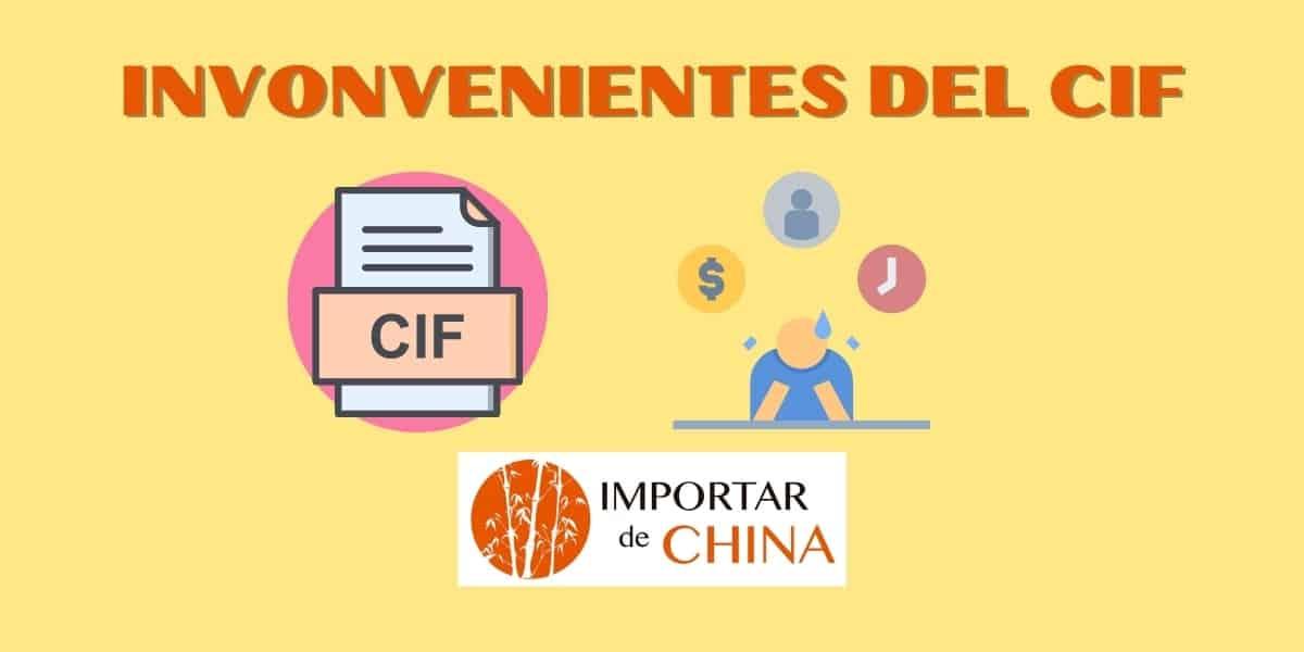 Inconvenientes de trabajar con CIF