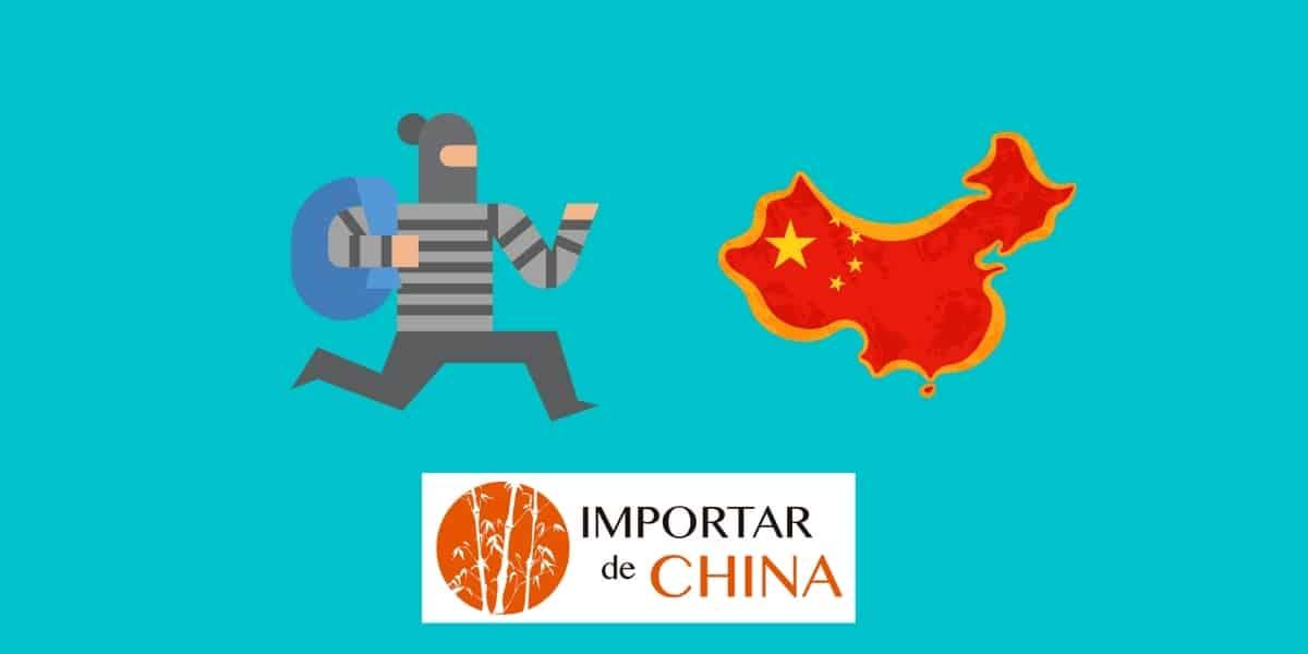 Estafa comprando en China