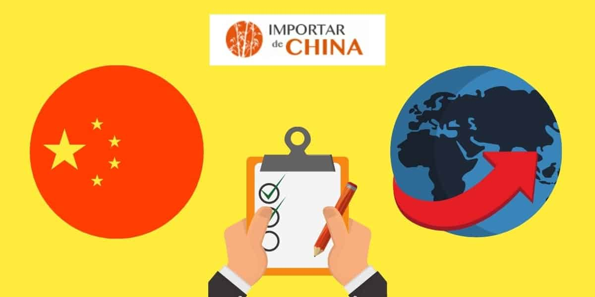 Checklist para importar de China