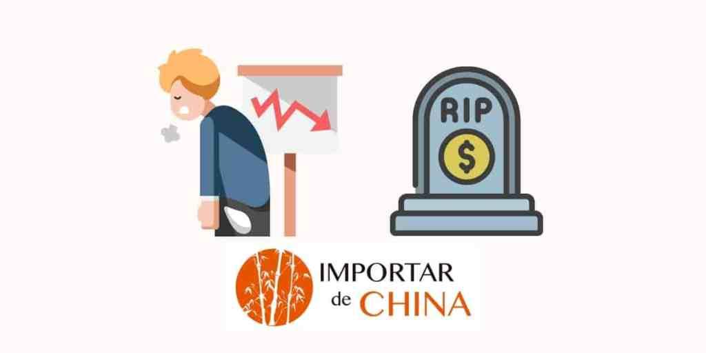 Negocios ruinosos para no importar de China