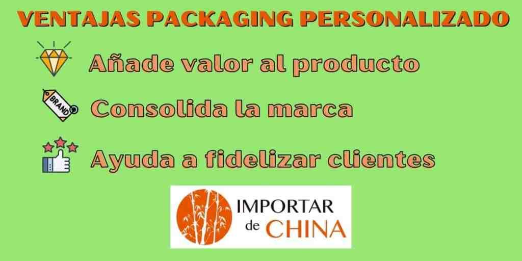 Ventajas del packaging personalizado