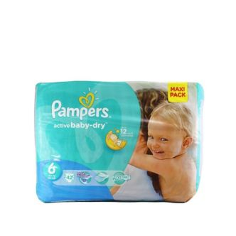 Pampers Active Baby Dry nr.6 Extra Large 15+kg 42 buc