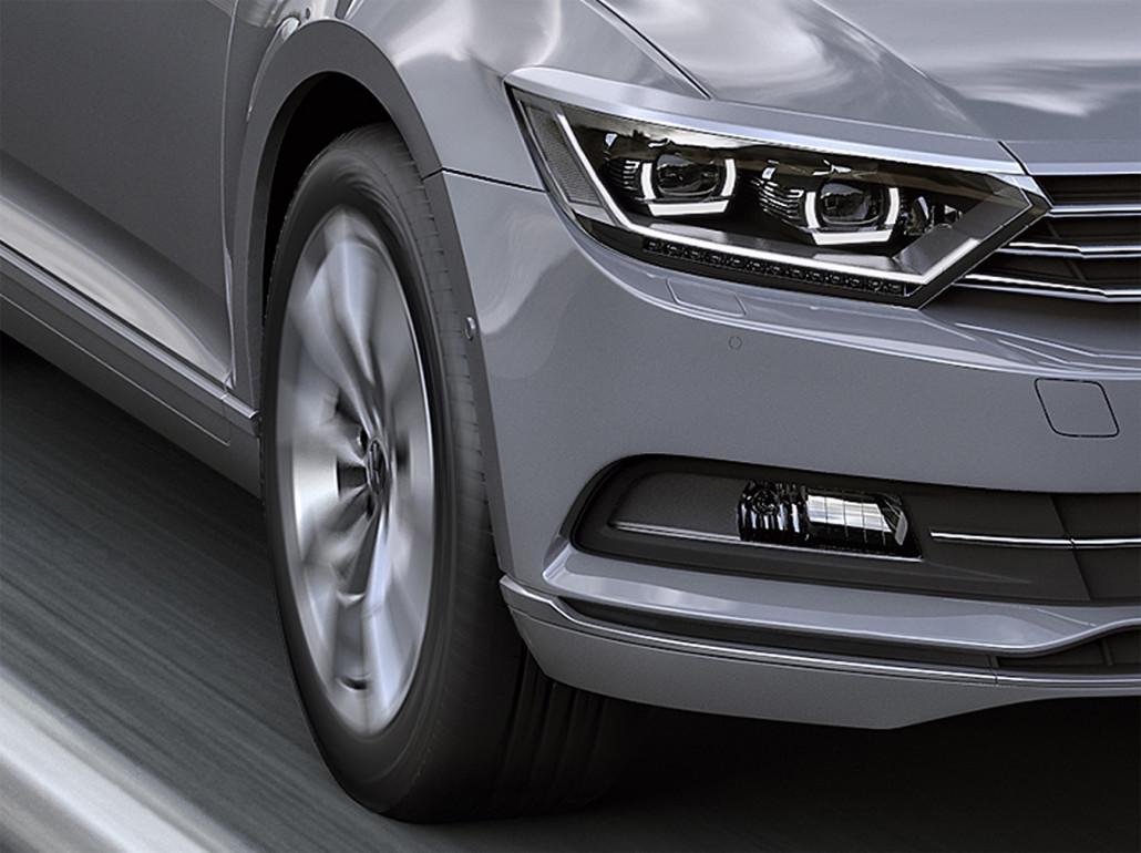 Volkswagen Passat 2015 Grafik 3d Michał Szymański
